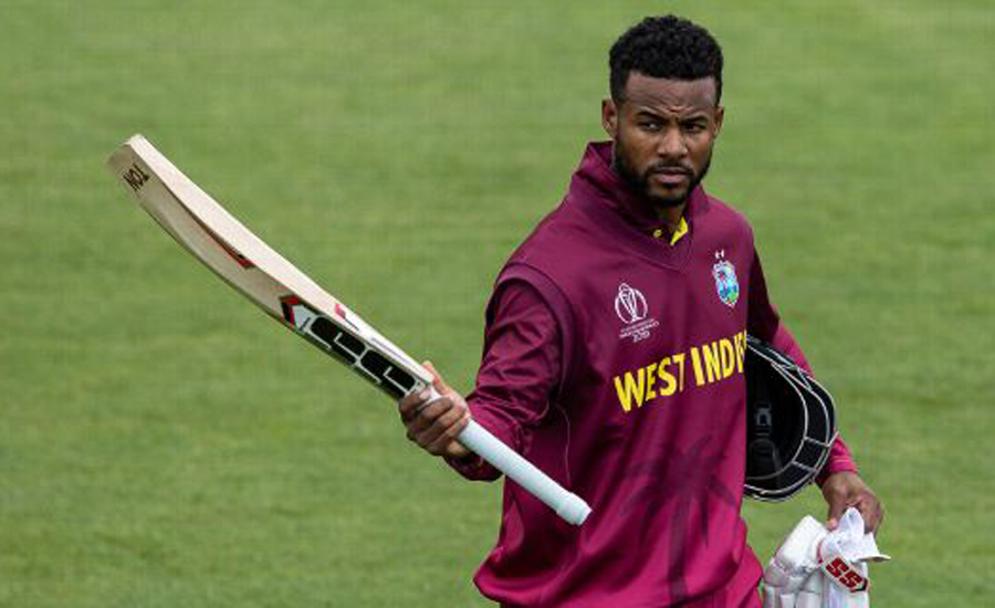 Hope and Russell help West Indies to mammoth total