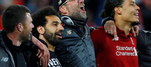 'impossible', win, Klopp, Liverpool, write, history