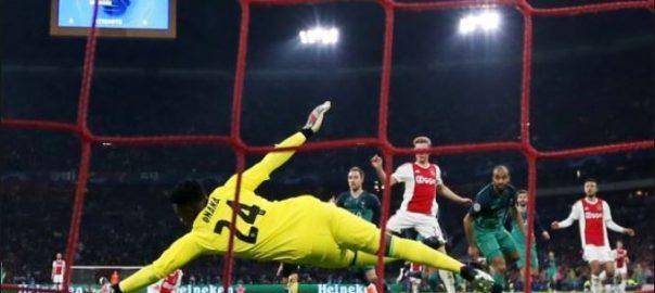 Tottenham soccer ajax semi final rudd gullit