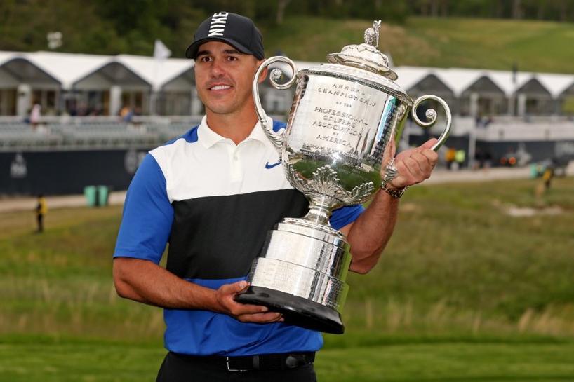 Golf: Koepka survives to win PGA after crowd sense a collapse