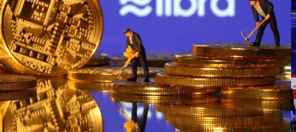 Bitcoin,Facebook, Libra