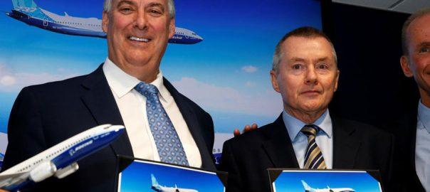 Boeing BA Boost jet 92 news business