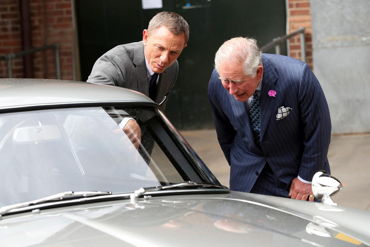 When 007 met the Prince: Bond film set gets royal visit