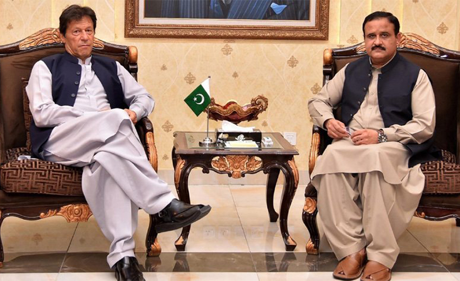 PM Imran Khan, Punjab CM Buzdar discuss overall situation in province