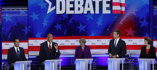 healthcare Democrats US presidential US presidential debate democrats fight