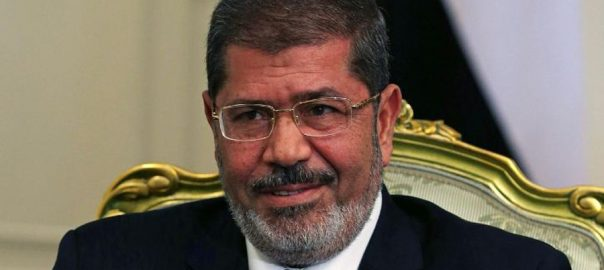 Ousted, ex-Egyptian, president, Mursi, dies, court, hearing