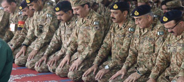 COAS, Gen Qamar Bajwa, Eid, troops, Line of Control