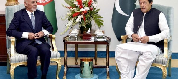 PM, Imran Khan, Afghan, president, discuss, reconciliation, process