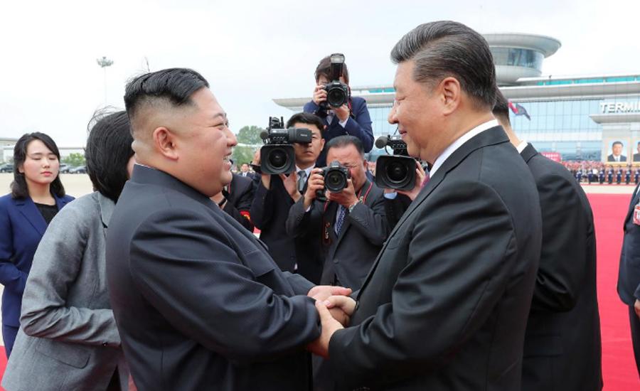 Kim, Xi agree to grow ties whatever external situation - North Korean media