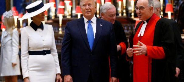 Melania Trump Donald Trump British Queen Elizabeth brexit Prince charless Huwaei
