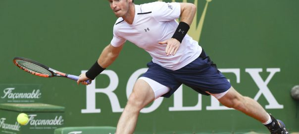 Murray tennis doubles win Murray marks return