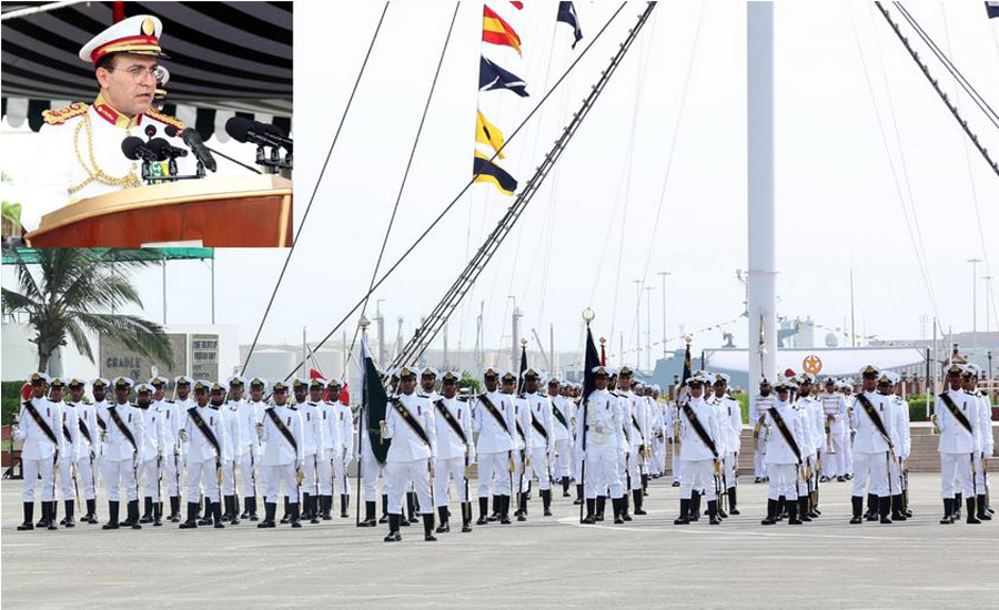 111th Midshipmen and 20th SSC Course Commissioning Parade held at PNA