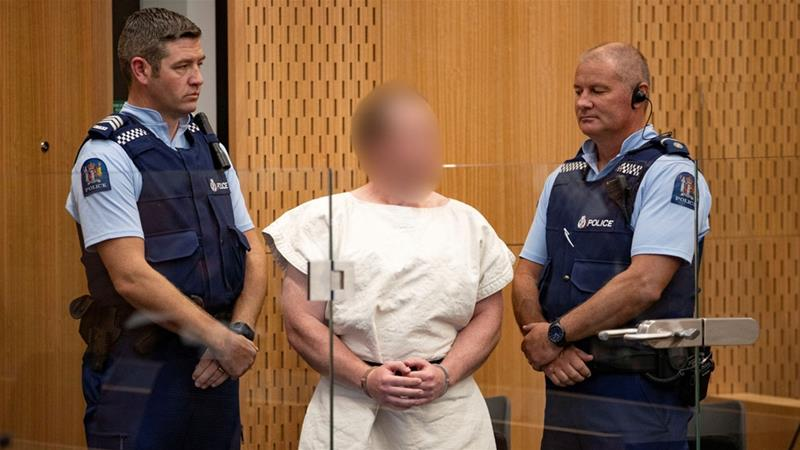 Accused Christchurch gunman pleads not guilty to all charges in NZ court