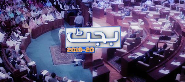 budgets Punjab Sindh Punjab budget Sindh budget Murad Ali Shah Fy 2019-20 Federal budgets