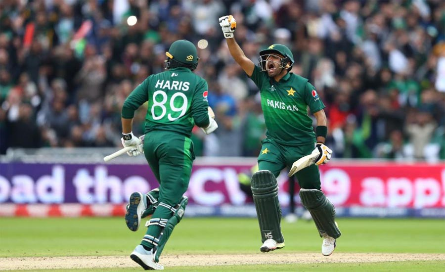 Babar, Haris guide Pakistan to six-wicket win over New Zealand in World Cup