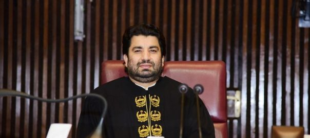 Deputy speaker NA Deputy speaker Qasim Suri Selected word PM NA National Assembly prime minister of pakistan parliament parliament house lower house omer ayub
