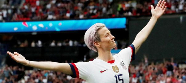 PARIS Megan Rapinoe United States France World Cup quarter-finals