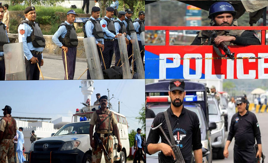 Special security arrangements finalized for Eid days