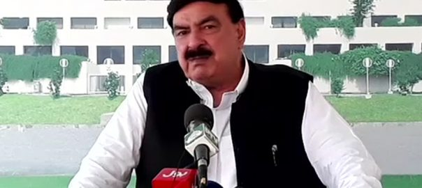 Sheikh Rasheed PML-N Shhebaz Sharif nawaz Sharif PM Imran khan support railways minister