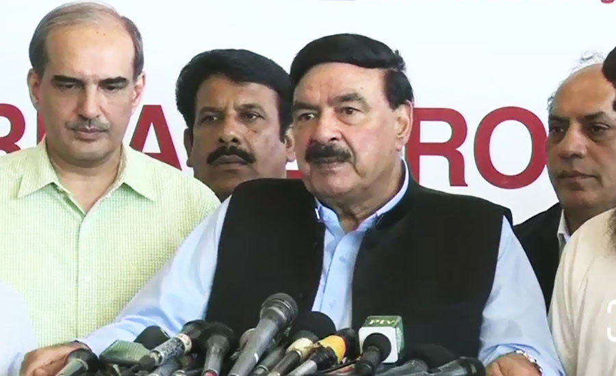 MNAs ready to quit PML-N, senate chairman will not be changed: Rasheed