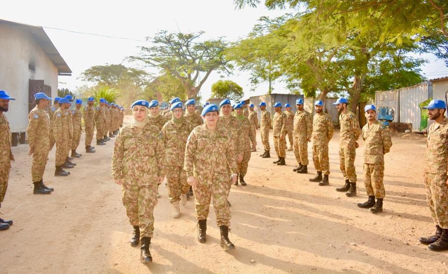 Pakistan deploys female engagement team in Congo