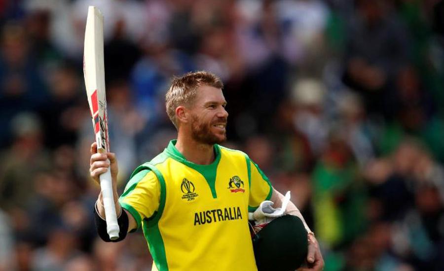 Warner hits 166 as Australia rack up 368 against Bangladesh