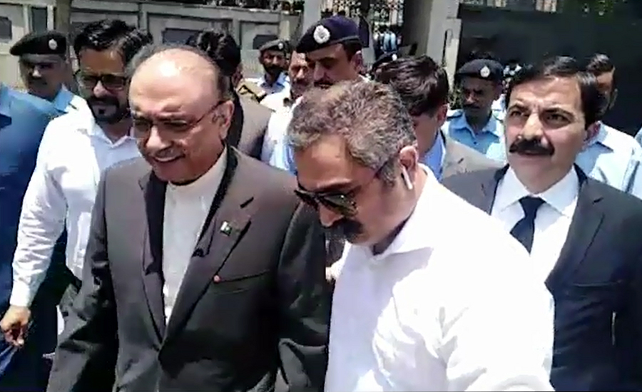 Zardari withdraws bail pleas in Park Lane, Tosha Khana cases