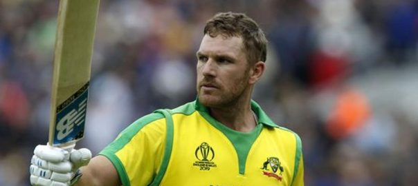 Aaron Finch Australia London ICC Men's Cricket World Cup Sri Lanka