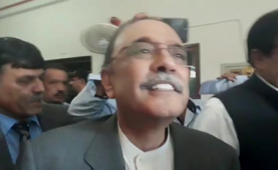 People lost confidence in currency, dollar being shifted abroad: Zardari