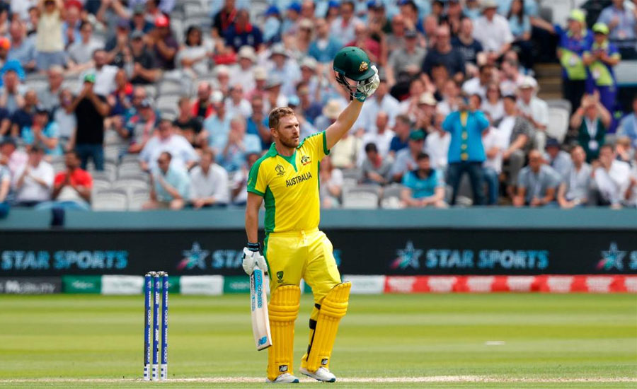 England fight back after Finch century helps take Australia to 285-7
