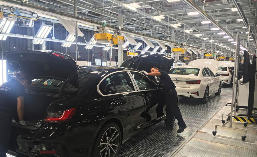 BMW sells cars globally despite tariffs: board member