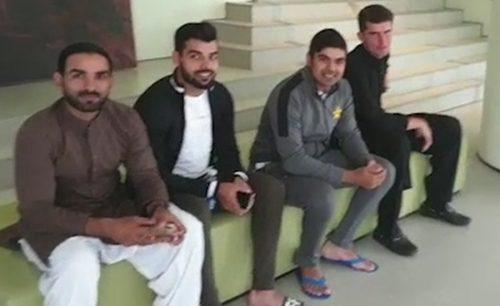 Pakistan cricket team  Eid  Eidul fitr  Eid mubarik  fan  London  NOTTINGHAM