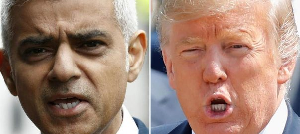 donald trump disaster london mayor new eforts attacks