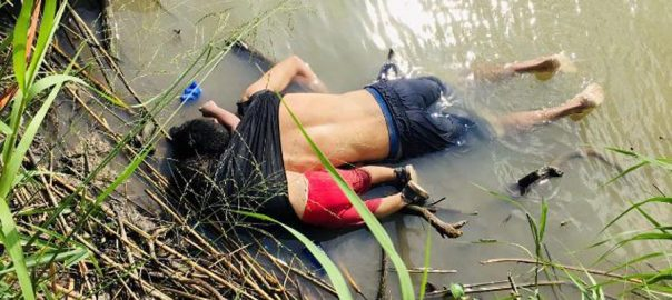 Harrowing, photo, drowned, migrants, US border, global, attention