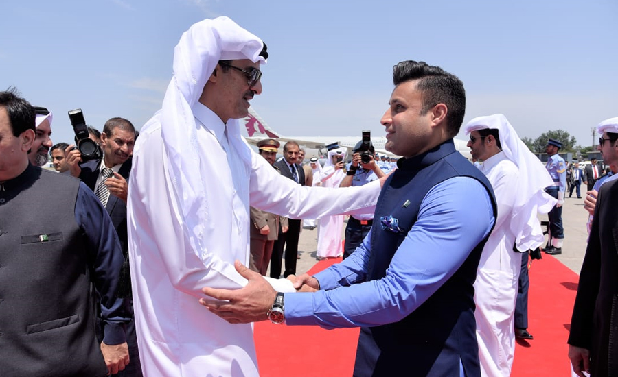 Qatari emir returns back after two-day official visit to Pakistan