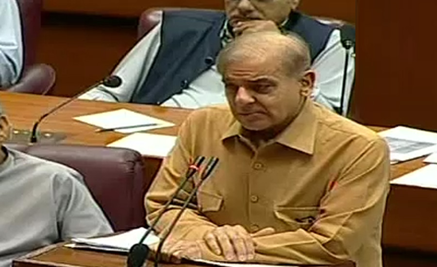 Shehbaz Sharif terms budget as anti-state, demands its withdrawal