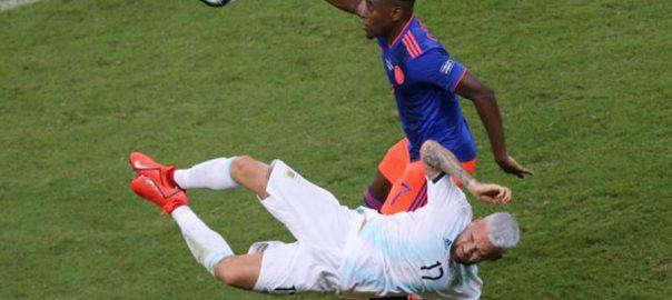 martinez football colombia argentina Copa America Group B finale Duvan Zapata