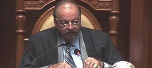 Sindh Assembly Sindh Assembly speaker Sub-jail chamber Agha Siraj Durrani