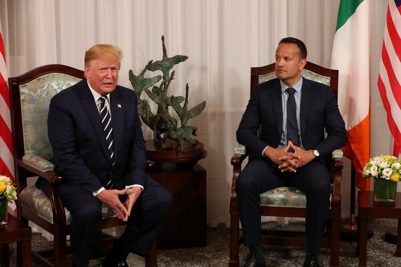 Don't fret, Trump tells nervous Ireland, Brexit will work out 'very well'