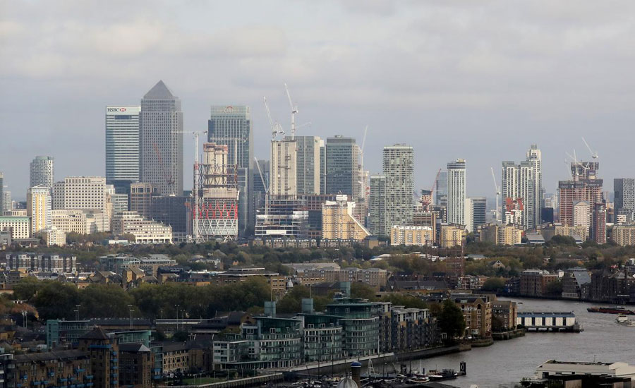 UK private sector reports sluggish underlying growth