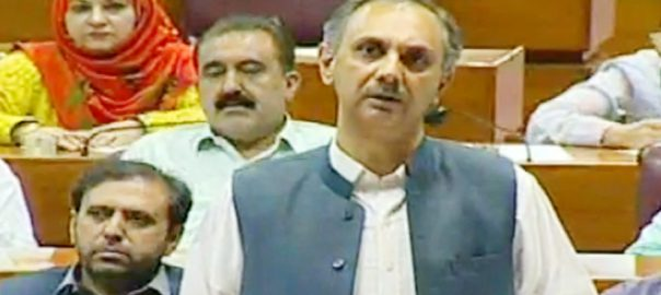 Omer Ayub budget session PTI pakistan tehreek-e-insaf PTI govt power minister next budget federal budget PTI led govt