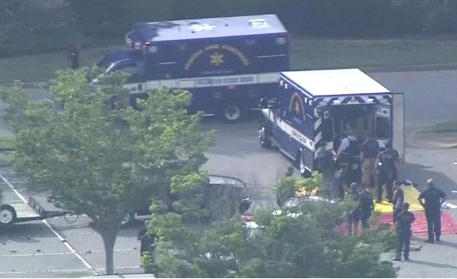 Disgruntled city employee kills 12 in Virginia; suspect also killed