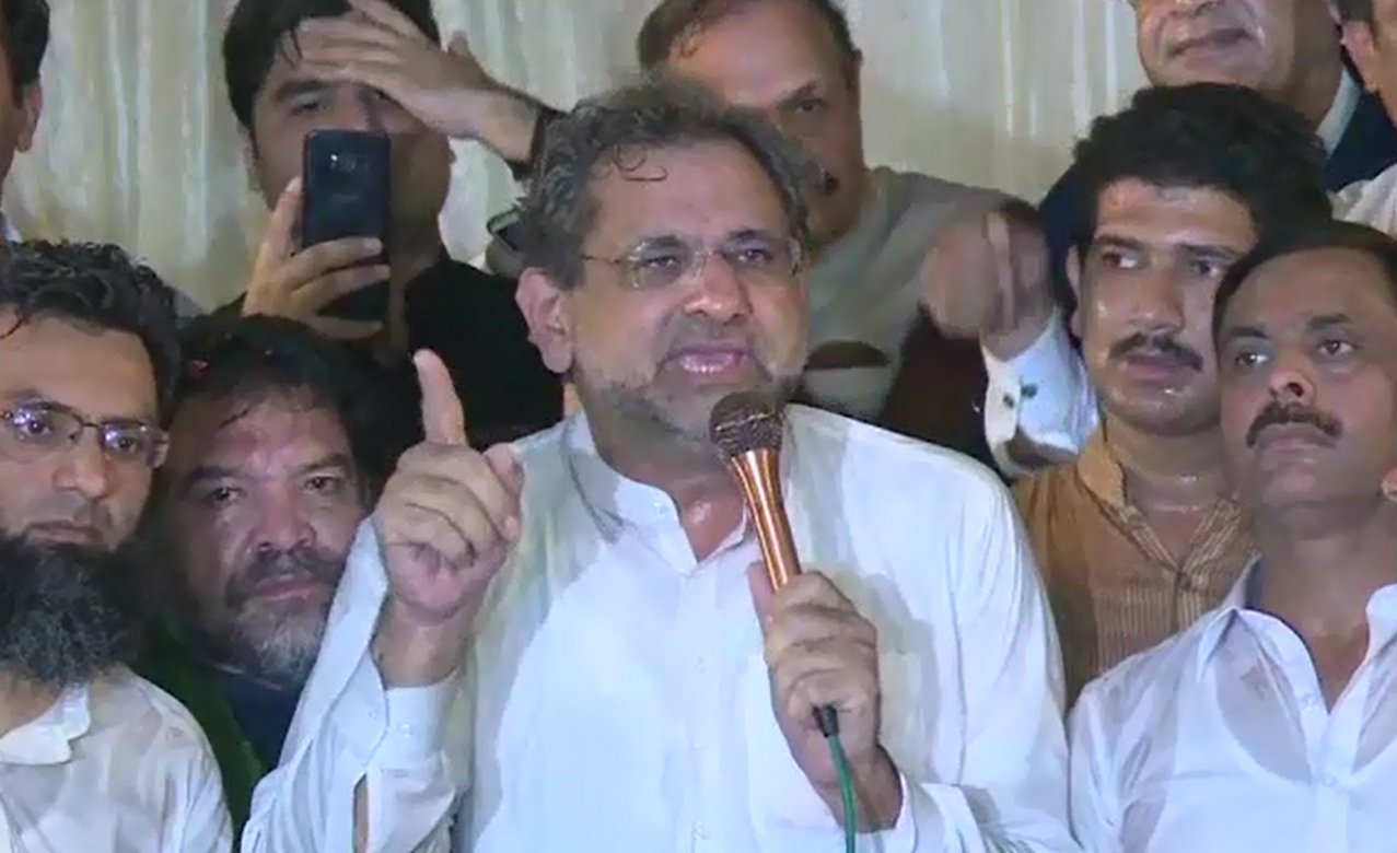 No one will get justice if Nawaz Sharif fails to get it: Shahid Khaqan Abbasi