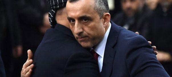 Afghan bomb attack Amrullah Saleh