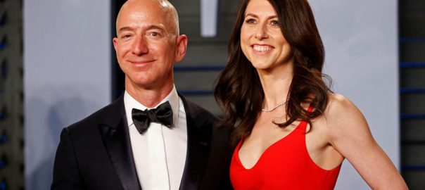 Amazon Amazon founder Bezos divorce settlement