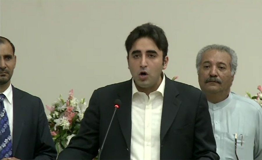 Bilawal Bhutto demands immediate release of Shahid Khaqan Abbasi