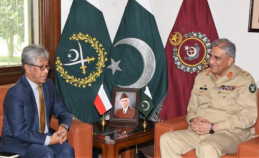 COAS Qamar Bajwa, Indonesian ambassador discuss enhanced defence cooperation