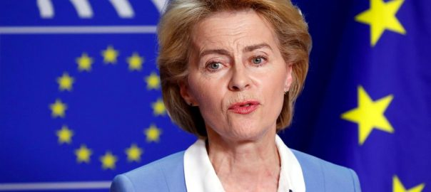 Von der Leyen EU EU executive crucial vote