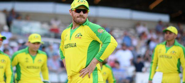 Finch key moments pointing hails Australia Rickey ponting ponting