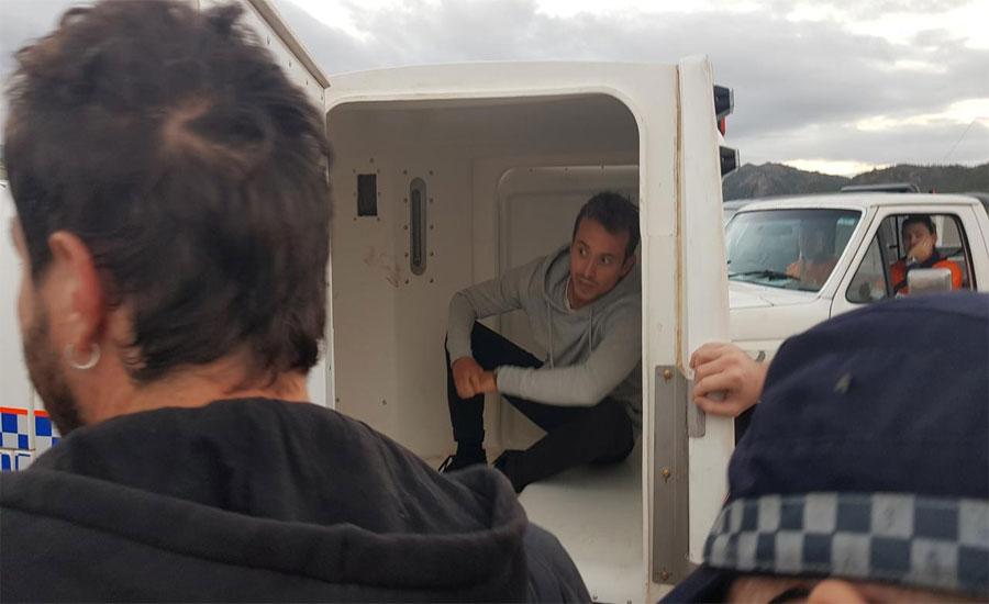 Australia detains French TV crew filming Queensland anti-coal protest